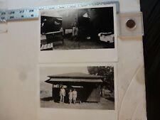 Vintage Photo-2 Photos Sweitzer Album Camp Dent 1935 Allentown PA 1993