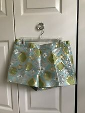 NWT J Crew Collection Embroidered Shimmer Short in Size 4