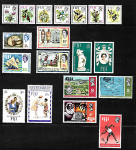 Fiji .. A good mint stamp collection .. 4702