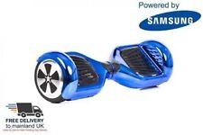 """6.5"""" SMART alla deriva due ruote scooter elettrico Bilanciamento Board Blu * Inscatolato * Regno Unito"""