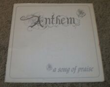 Anthem A Song Of Praise Campus Advance~AUTOGRAPHED~1980 Private Christian Gospel