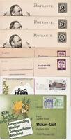 Ganzsachen Deutsches Reich & Berlin, 1 Umschlag Berlin mit Bauten Zusammendruck