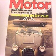 Motor Magazine Audi 100 Tested Open Up Your Roof March 5, 1977 062017nonrh