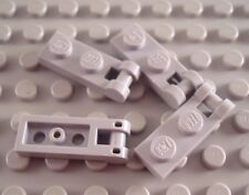 LEGO Lot of 4 Light Bluish Gray 1x2 Specialty Bar End Plates