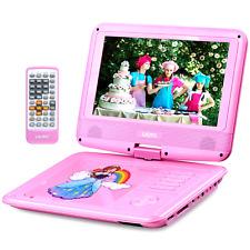 "UEME 9"" Portable DVD Player for Kids with Car Headrest Mount Holder Swivel CD"