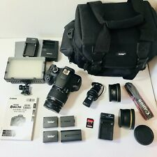 Canon EOS Rebel T6 Digital SLR Camera with Extra Lens & Accessories (BUNDLE++)