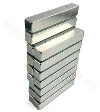 40mmx10mmx10mm Long Bar Block Rare Earth Neodymium Permanent Strong N50 Magnets