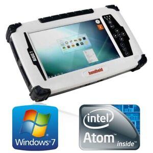 "Handheld ALGIZ 7 v2 Atom N2600 4G 128G SSD WiFi Modem 7"" Touch Tough Tablet"