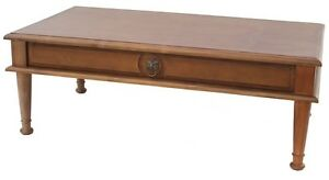Newhaven Solid Wood Coffee Table with drawer