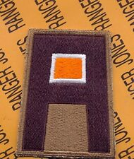 """Us Army 1st First Army Command Signal Branch Ssi 3"""" patch c/e"""