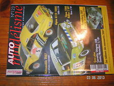!!/ Auto Modelisme n°123 Alpine A 110 Simca 1000 Rallye 2 F1 A.G.S Corvette L88