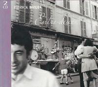 DOUBLE CD/LIVRE DIGIPACK  24T PATRICK BRUEL ENTRE DEUX (HALLYDAY/AUBERT/CABREL)