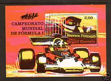 Brazil Sc 1247 Mnh. 1972 Fittipaldi Formula 1 Racing s/s