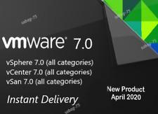 VMware 7.0 ESXi / vSphere 7 / vCenter 7 / vSan 7 / vRealize /PACKS/FAST DELIVERY