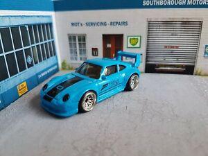hot wheels Custom porsche 993 gt2 911 forza 4 modified stance 1/64 deep dish bbs