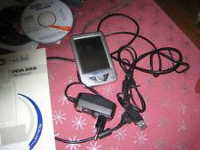 2 x Pocket Windows PC Bluemedia PDA 255- Zubehör und Beschreib.inkl. Navigon 4