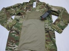 NEW MASSIF ARMY OCP COMBAT SHIRT SCORPION CAMOUFLAGE LARGE 1/4 ZIPPER FR TOP