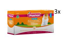 3x PLASMON Biberon Kinderkekse für Babyflasche Babynahrung ab 4 Monaten 600g