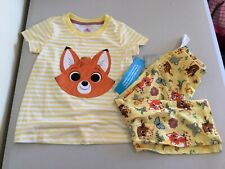 New Disney Store Fox Pajama Set Girls 3T,4T,5T Toddler The Fox and The Hound