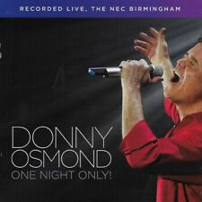 Donny Osmond - One Night Only! Live In Birmingham [New CD]