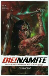 Die!namite #4 Parrillo Cover A  2021  NM 9.6