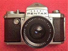 RARE ASAHI PENTAX AP CAMERA (ORIGINAL PENTAX) w/F/4 35MM TAKUMAR LENS MINT