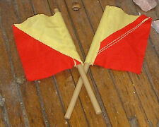 VINTAGE ACTION MAN 40th LOOSE NAVY ATTACK SEMAPHORE FLAGS