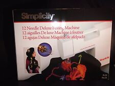 FELTING MACHINE SIMPLICITY BRAND NEW UK SELLER FAST DELIVERY