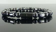 Magnetic Hematite Healing ARTHRITIS PAIN Bracelet Black