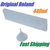 100% Original & Brand New Roland 440ml Refill Ink Cartridges with Funnel