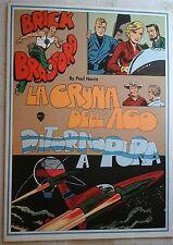 BRICK BRADFORD - LA CRUNA DELL' AGO collana gertie daily 115 comic art 1980
