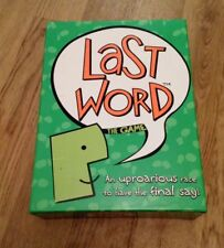 LAST WORD THE GAME RACE TO HAVE THE FINAL SAY PAUL LAMOND 2005 COMPLETE XMAS FUN