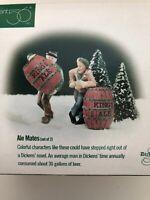 "Dept 56 Dickens Village ""ALE MATES"" set of 2 #58417 BNIB"