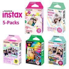 For Fujifilm Instax Mini 8 9 70 Instant Camera Fuji 50 Sheets Color Photo Film