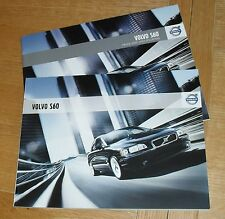 Volvo S60 Brochure Set 2007-2009 - SE - SE Lux - SE Sport - 2.0T 2.4D D5