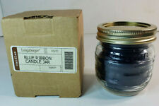 Longaberger Blue Ribbon Collection Candle Jar Berry 91231