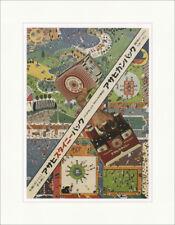 Ashai Bier Tadanori Yokoo 1966 Werbeplakat Japan Kunstdruck Plakatwelt 702