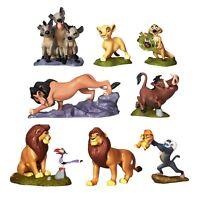 Disney The Lion King Deluxe Figurine Figure Figures Set of 8 Playset