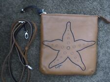 Brighton Starfish Crossbody Zippered Pouch