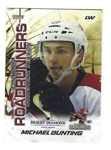 2016-17 Tucson Roadrunners (AHL) Michael Bunting