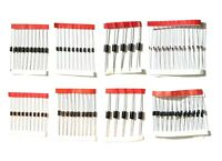 100pc Diode Kit 8 values including 1N4148 1N5408 FR207 1N5822 1N4007 1N5399