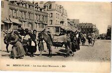 CPA  Berck-Plage - Les Anes dans l'Entonnoir   (220014)