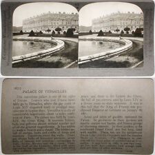 Keystone Stereoview Palace of Versailles: Treaty Signed From RARE 1200 Card Set