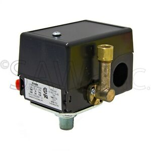 D20596 Air Compressor Replacement ON Off Pressure Switch Preset to 140/175 PSI