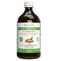 Elanature Bio-fermented Turmeric with Ginger and Black Pepper 500 ml