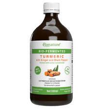 Elanature Bio-fermented Turmeric with Ginger and Black Pepper 500 ml