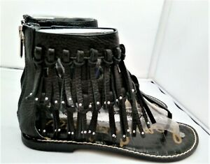 Sam Edelman Women's Griffen Gladiator Sandal, Black, Size UK 6 EU 39