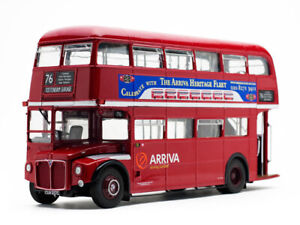 2941 ARRIVA ROUTEMASTER RM 2217 double deck model bus CUV217C 1:24 scale SUNSTAR
