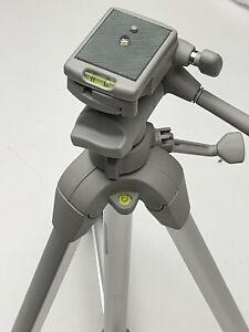 Sunpak Platinum Plus Tripod with Quick Release 3 axis pan tilt friction head
