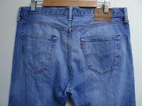 "LEVIS 501 Jeans Straight Leg Blue Denim SIZE W36 L32 Waist 36"" Leg 32"" LEVI 501"